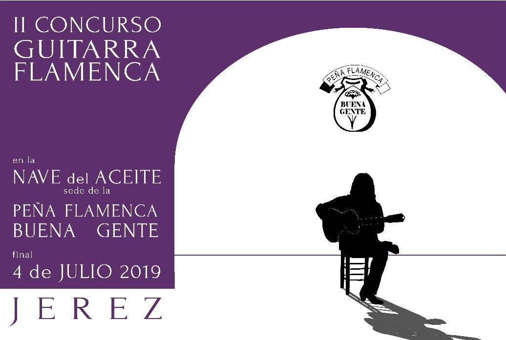 La Buena Gente da a conocer las bases del II Concurso de Guitarra Flamenca deJerez