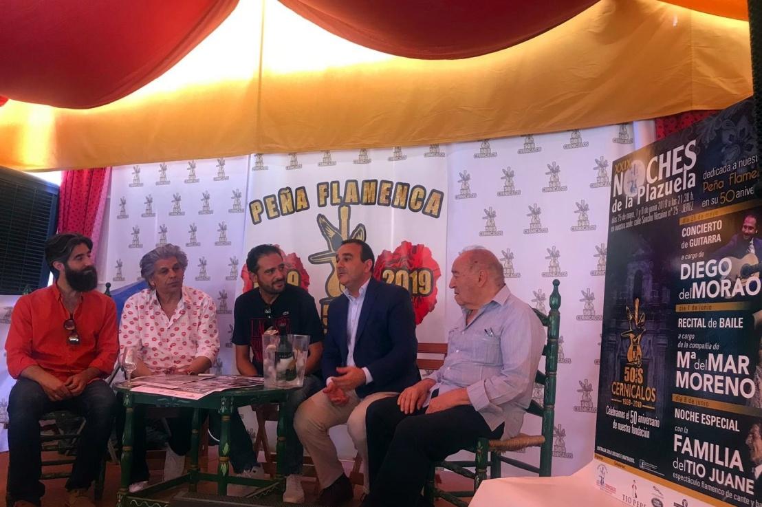 Presentadas las XXIX Noches de la Plazuela de Los Cernícalos deJerez