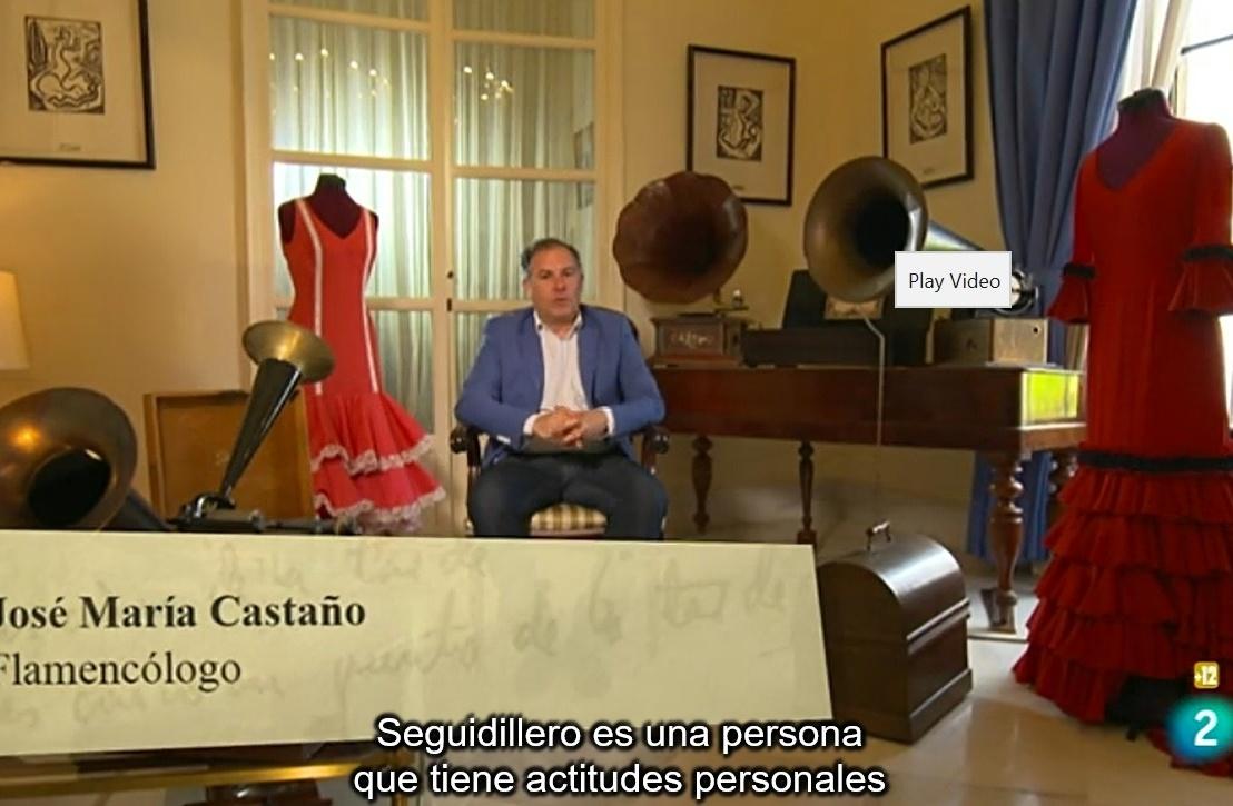 """Nuestra participación en el documental de TVE2 """"García Lorca: toreando con lasestrellas"""""""