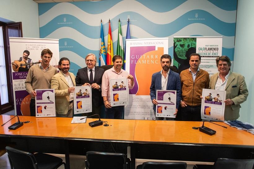 José Carlos Gómez y Manuel Valencia protagonizan el II Festival de la guitarra flamenca deJerez