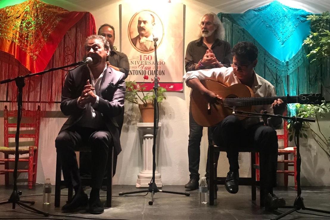 Luis Moneo en Don Antonio Chacón, primera dedicatoria a Fernando de laMorena
