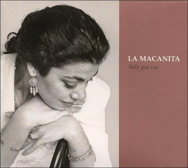 """Programa.- Tomasa """"La Macanita"""", diez años de su disco """"Sólo poreso"""""""