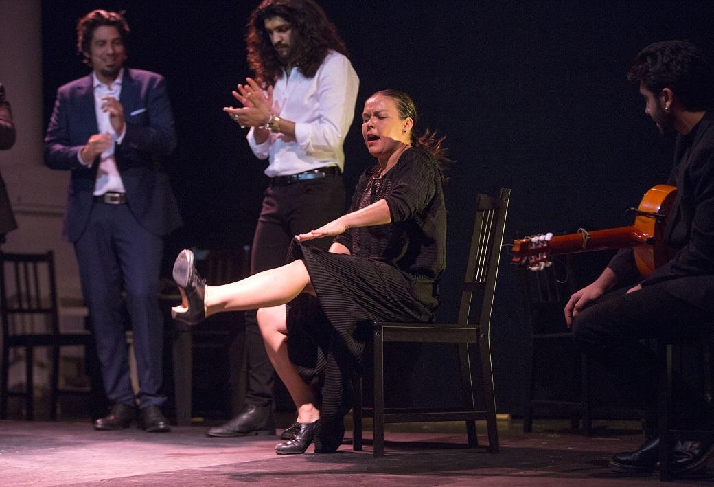 """Rocío Molina presentó su """"Impulso"""" en los Jueves Flamencos deCajasol"""