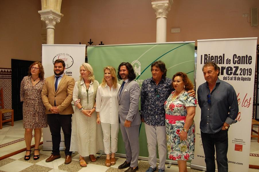 Se presenta la I Bienal de Cante de Jerez que tendrá lugar del 5 al 18 de agosto2019