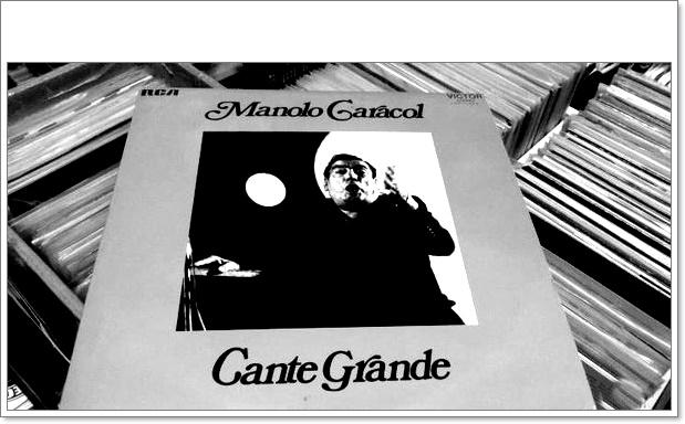 """Programa.- Del """"Cante grande"""" de Manolo Caracol con Niño Ricardo(1972)"""