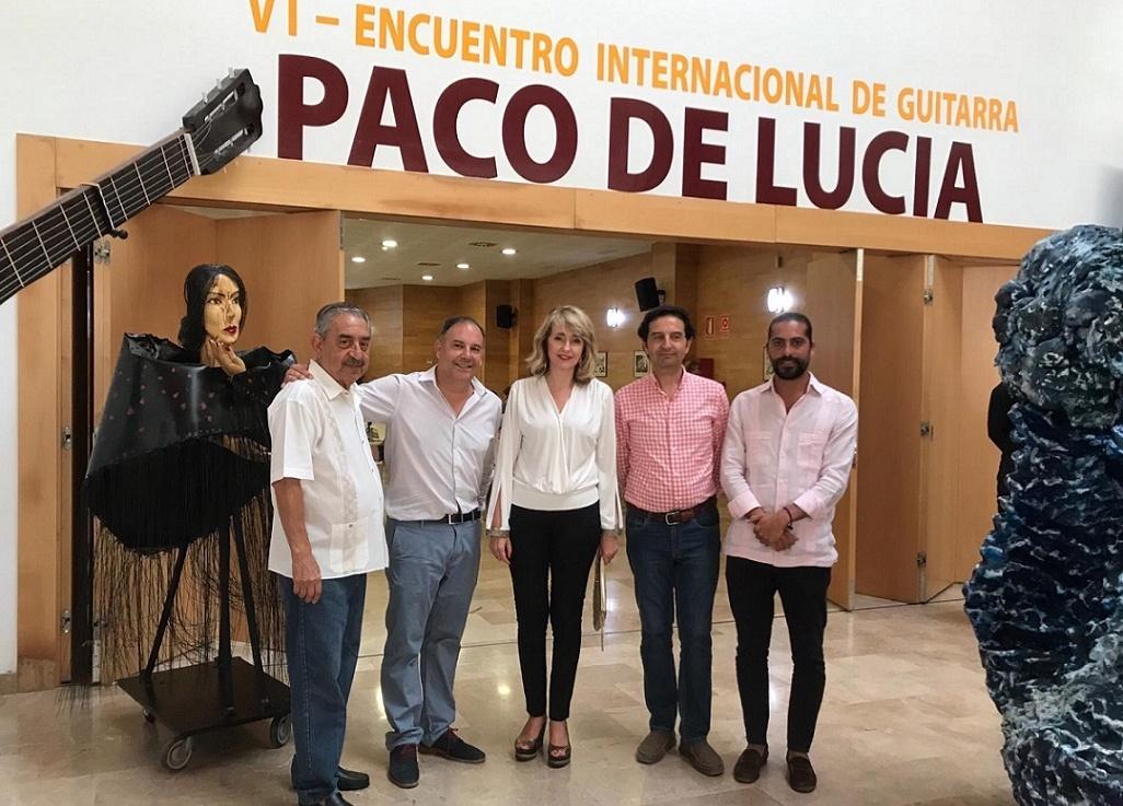 Gran acogida de nuestra conferencia Camarón & Paco de Lucía enAlgeciras