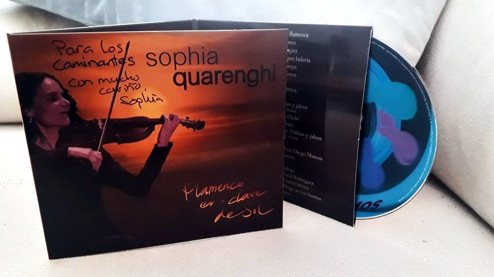 """Entrevista.- La violinista Sophia Quarenghi nos presenta su disco """"Flamenco en clave deSol"""""""