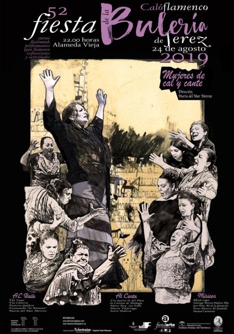 Cartel Mujeres de Cal y Cante (1)