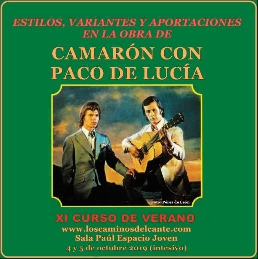 Portada Curso Camaron Paco 2019