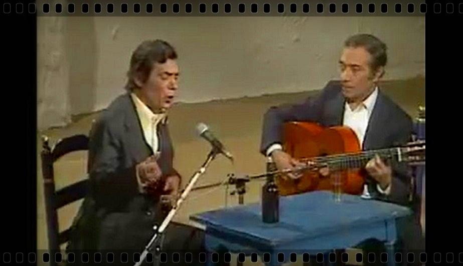 Catando vídeos.- Antonio El Chocolate y Juan Habichuela porsiguiriyas