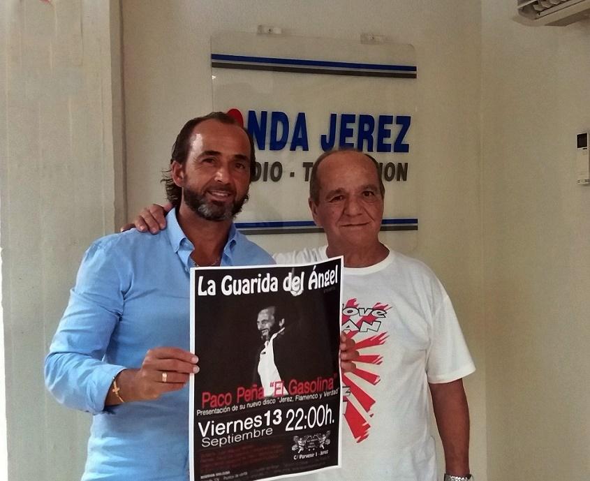 """Entrevista.- Paco Gasolina hijo nos presenta su disco """"Jerez, flamenco yverdad"""""""