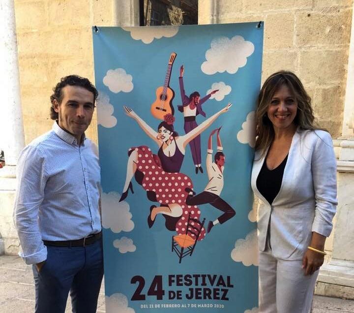 Entrevista.- El  bailaor Andrés Peña nos habla de su participación en el Festival deJerez