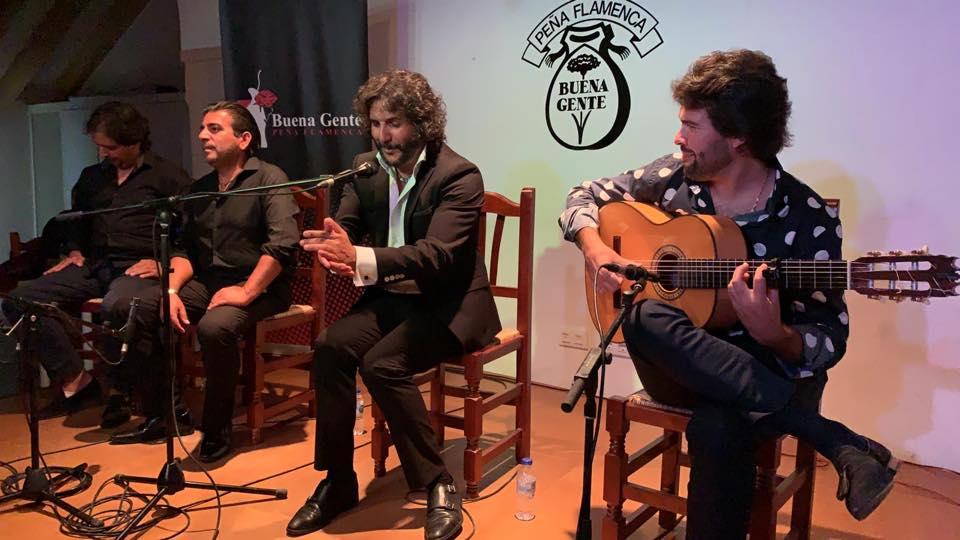 Programa.- Sonido directo del recital de Antonio Reyes en La Buena Gente deJerez