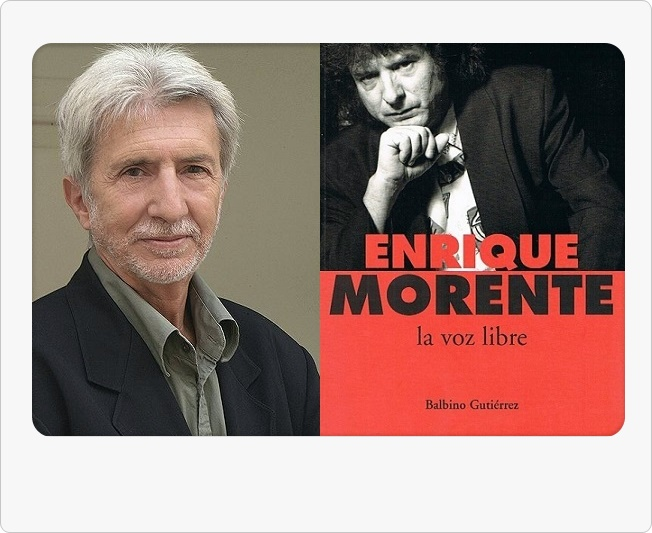 Pesar por el fallecimiento de Balbino Gutiérrez, biógrafo de EnriqueMorente