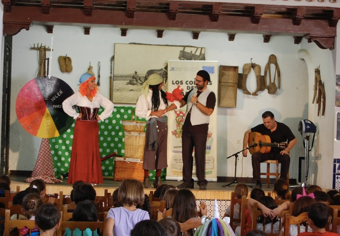 Los Colores del flamenco intro