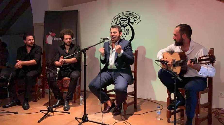 Vídeos.- Manuel de Cantarote y Nono Jero en la peña BuenaGente