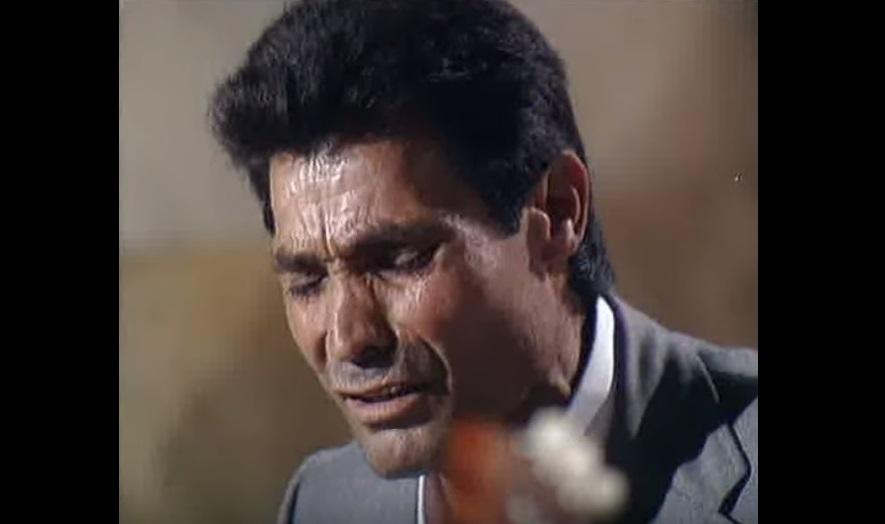 """Catando vídeos.- Manuel de los Santos Pastor """"Agujetas"""", una voz nacida para eldolor"""