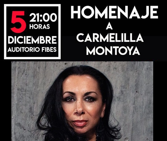 Todos con la bailaora Carmelilla Montoya este jueves en el FIBES deSevilla