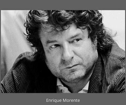 Enrique Morente Retrato