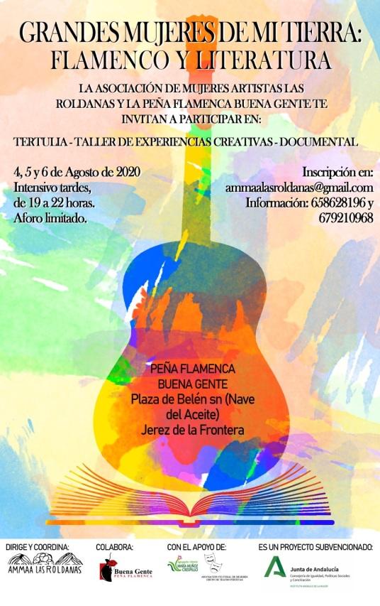 Grandes Mujeres de mi Tierra - Flamenco y Literatura