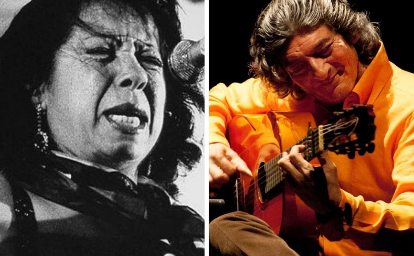 Catando vídeos: Fernanda de Utrera y Moraíto. Fiesta de la Bulería,1991