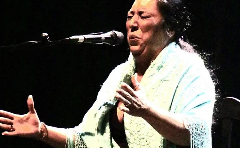 Amparo Heredia Reyes se alza con la 'Lámpara Minera' del 60 Festival Internacional del Cante de lasMinas