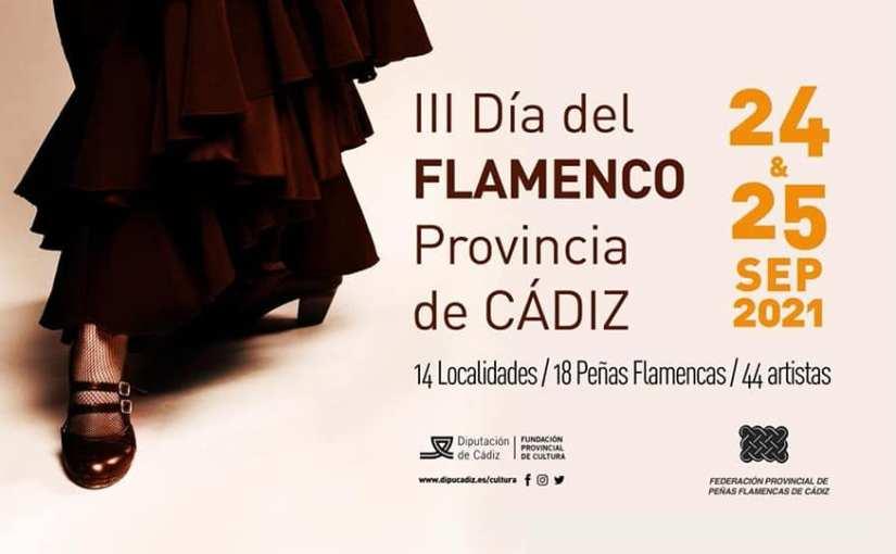 Todas las citas para celebrar el III Día del Flamenco en la Provincia deCádiz