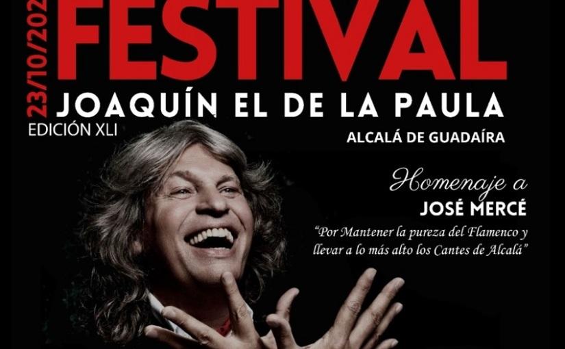 José Mercé será reconocido por su promoción de los cantes deAlcalá
